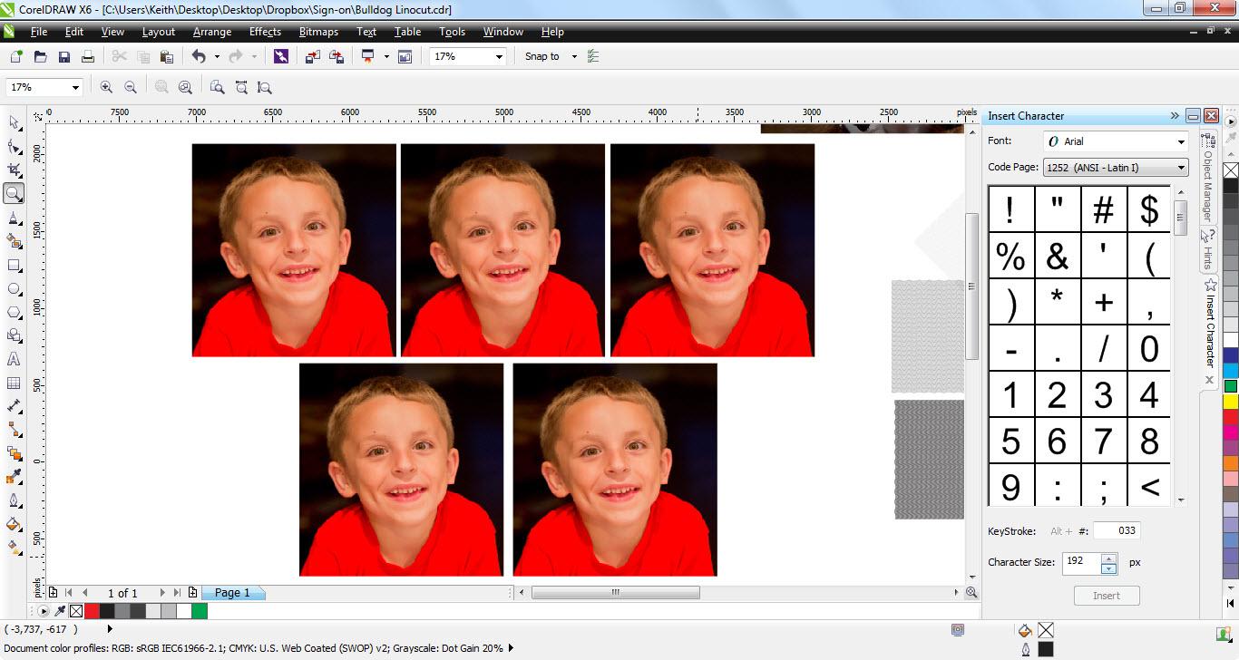 Poster design using coreldraw tutorial - Andrew Create Duplicates